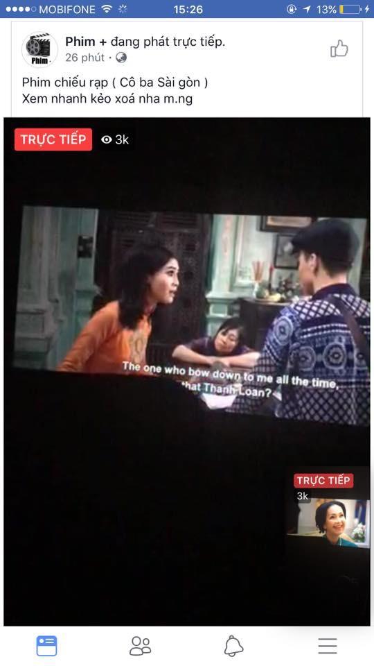 Cô Ba Sài Gòn bị quay trộm, rạp đổ cho ý thức khán giả - Ảnh 1.