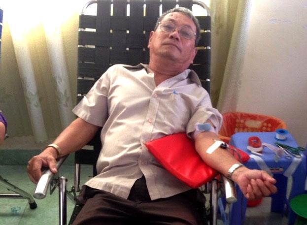 Niềm vui mỗi ngày: Người mê hiến máu - Ảnh 1.