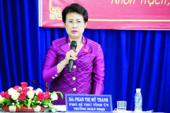 Đề nghị bãi nhiệm đại biểu Quốc hội với bà Phan Thị Mỹ Thanh - Ảnh 1.