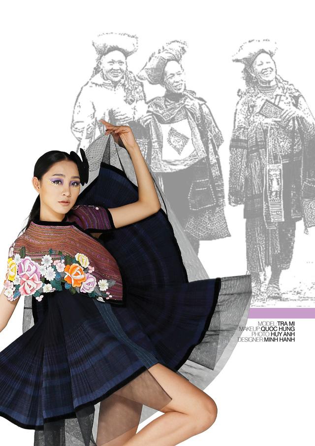 Nhà thiết kế Minh Hạnh mang bộ sưu tập thổ cẩm đến Geneve - Ảnh 3.