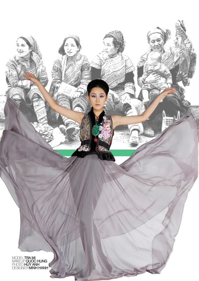 Nhà thiết kế Minh Hạnh mang bộ sưu tập thổ cẩm đến Geneve - Ảnh 4.