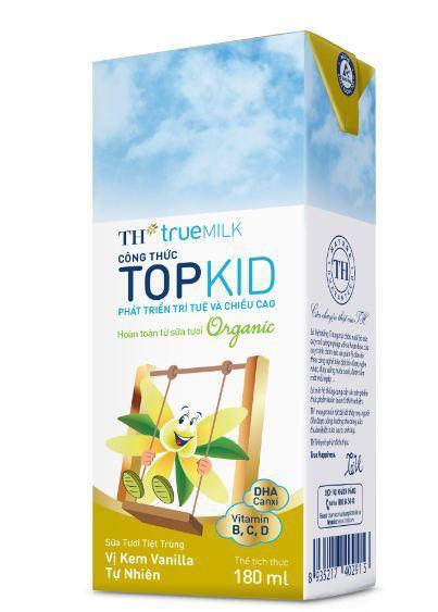 Sữa tươi tiệt trùng TH true MILK công thức TOPKID - Ảnh 3.