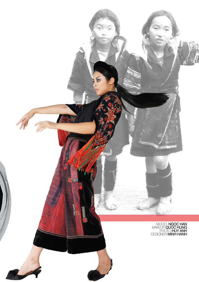 Nhà thiết kế Minh Hạnh mang bộ sưu tập thổ cẩm đến Geneve - Ảnh 5.