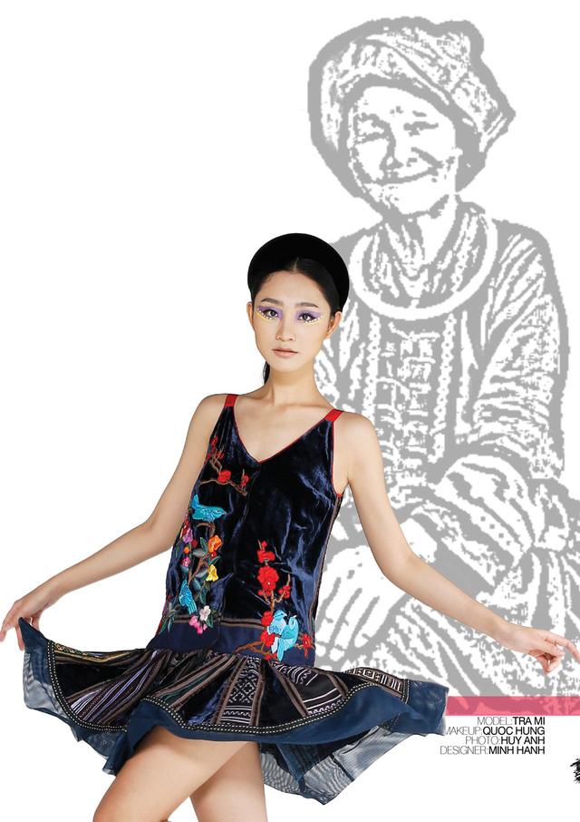 Nhà thiết kế Minh Hạnh mang bộ sưu tập thổ cẩm đến Geneve - Ảnh 8.
