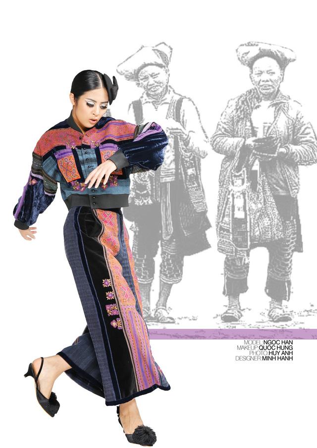 Nhà thiết kế Minh Hạnh mang bộ sưu tập thổ cẩm đến Geneve - Ảnh 10.