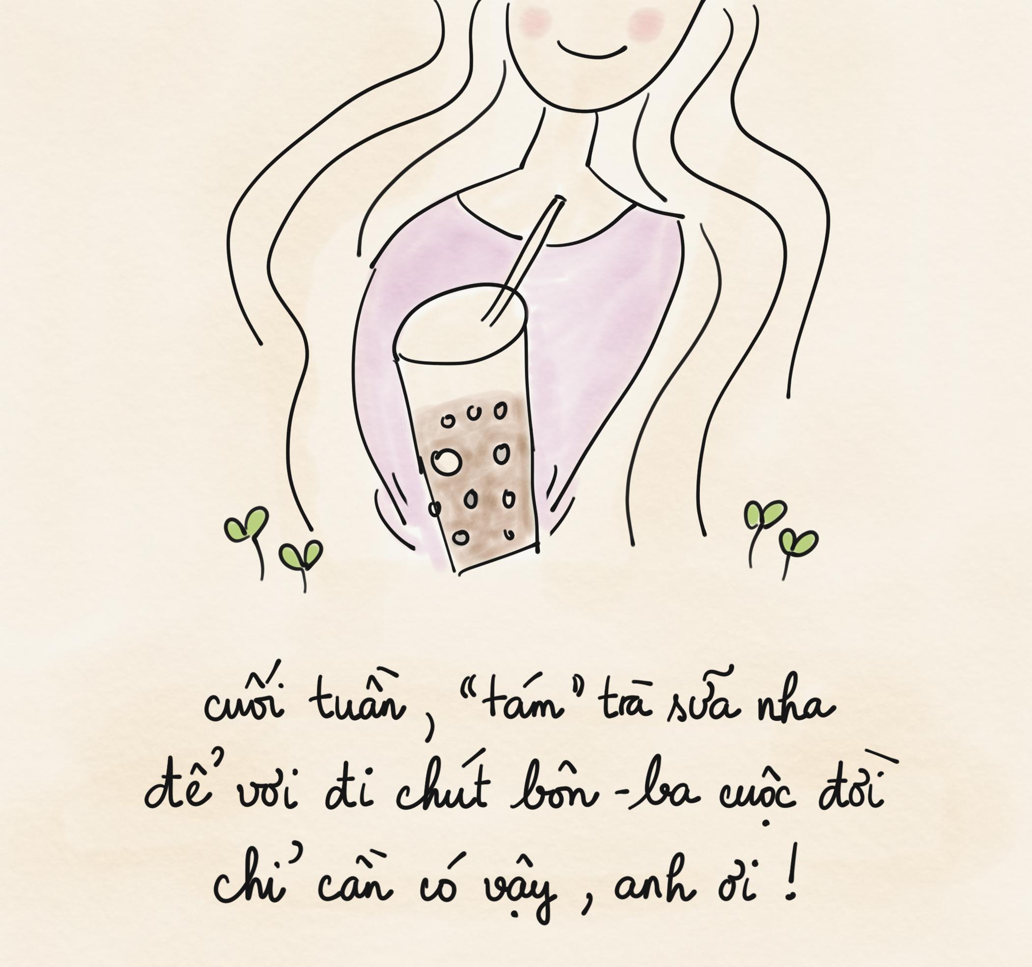 Đi uống trà sữa hem? - Ảnh 1.