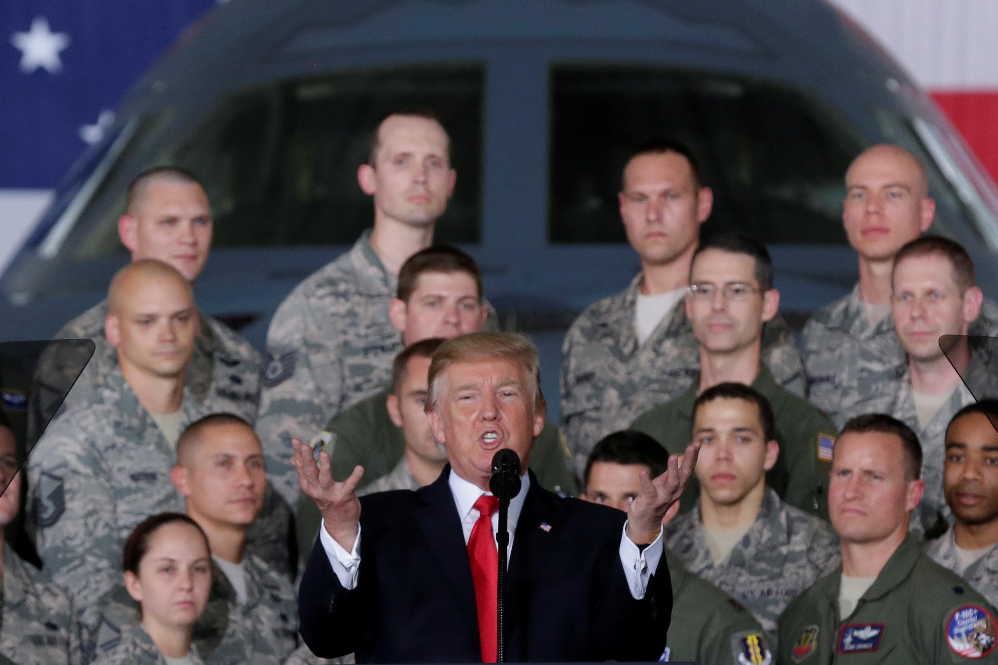 Mỹ lại bàn 'phương án quân sự' đối phó Triều Tiên - Ảnh 2.