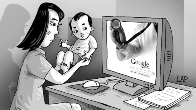 Bác sĩ thật khuyên không nên tin 'bác sĩ Google'