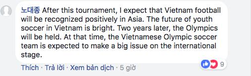 Dân mạng Hàn Quốc, Nhật Bản... liên tục cổ vũ U23 Việt Nam - Ảnh 6.