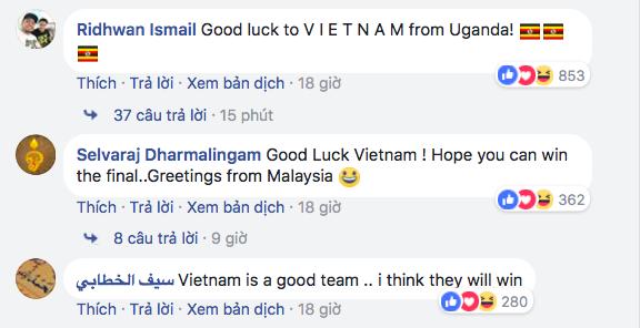 Dân mạng Hàn Quốc, Nhật Bản... liên tục cổ vũ U23 Việt Nam - Ảnh 8.