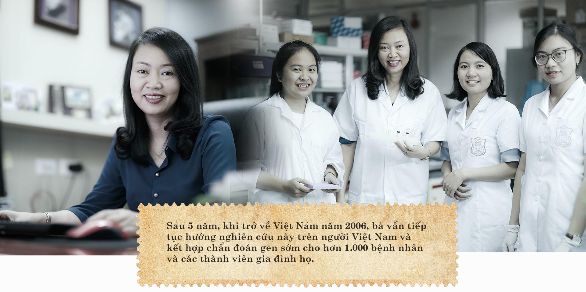 Nữ tiến sĩ giải mã gen và hành trình truyền lửa - Ảnh 3.