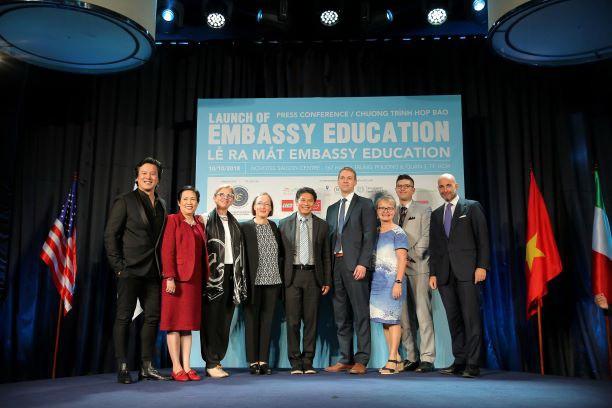 EMBASSY EDUCATION tham gia hệ thống giáo dục quốc tế Việt Nam - Ảnh 1.