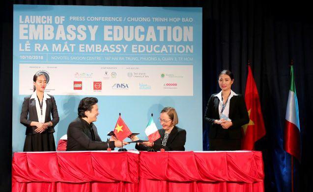 EMBASSY EDUCATION tham gia hệ thống giáo dục quốc tế Việt Nam - Ảnh 2.