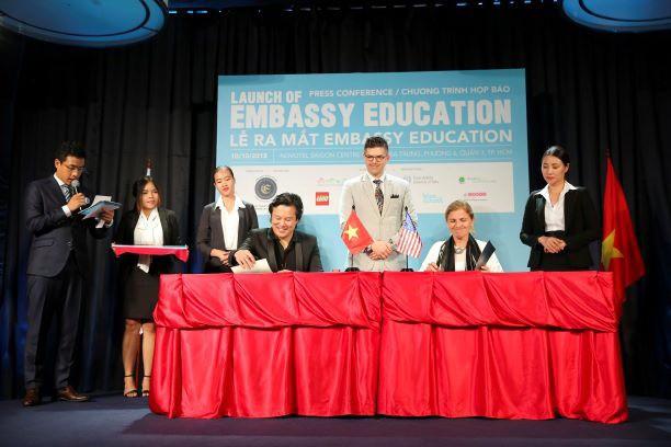 EMBASSY EDUCATION tham gia hệ thống giáo dục quốc tế Việt Nam - Ảnh 3.