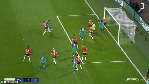 Trọng tài gây sốc khi không công nhận bàn thắng của Tottenham - Ảnh 2.