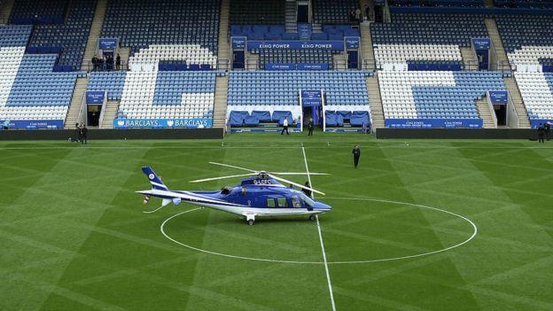 Trực thăng của ông chủ CLB Leicester City bốc cháy - Ảnh 2.