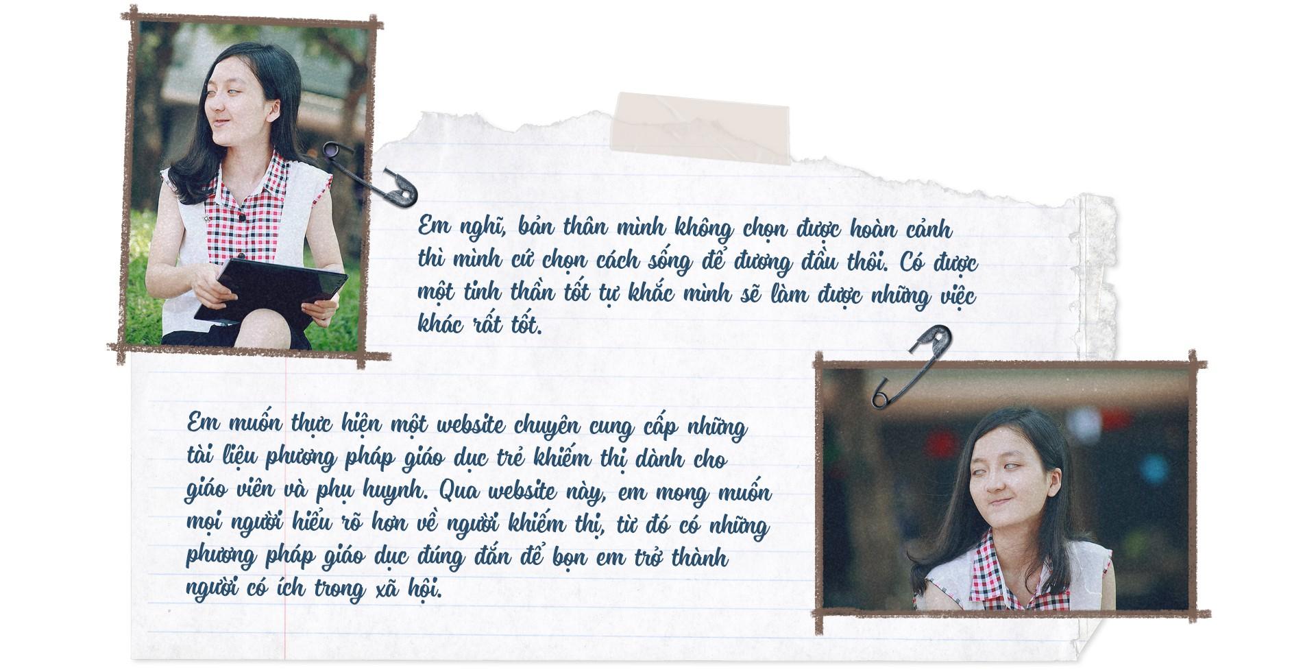 Nữ sinh khiếm thị giành học bổng 1 tỉ đồng - Ảnh 10.