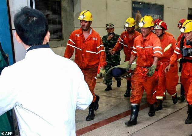Sập hầm mỏ tại Trung Quốc: xác nhận 21 người thiệt mạng - Ảnh 1.