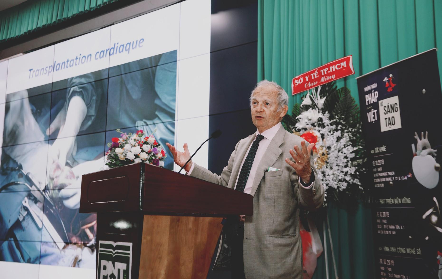 Giáo sư Alain Carpentier - người chế tạo quả tim nhân tạo Carmat - Ảnh 3.