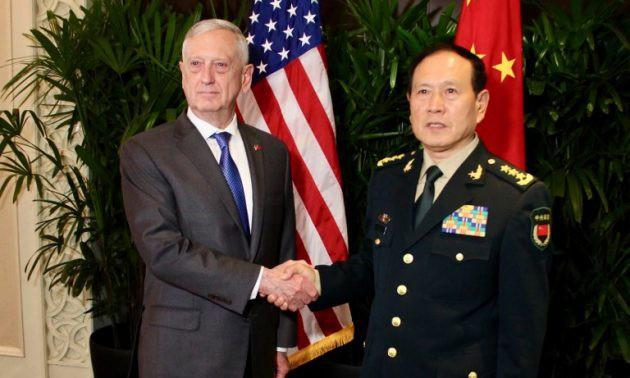 Đàm phán cấp cao, Mỹ thúc giục Trung Quốc ngừng quân sự hóa Biển Đông - Ảnh 1.