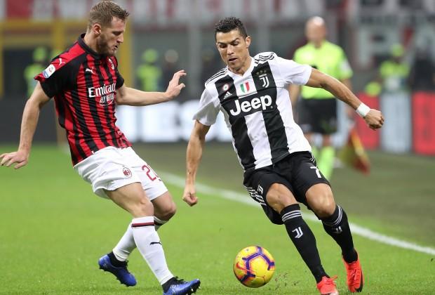 Ronaldo lập công, Juventus thắng thuyết phục Milan - Ảnh 1.