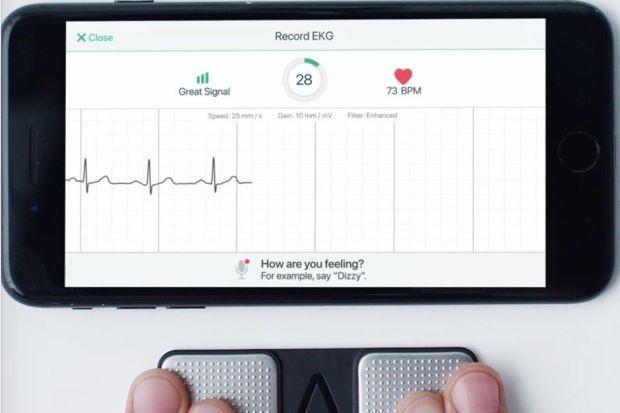 Theo dõi nhịp tim bằng smartphone có thể cứu sống bạn kịp thời - Ảnh 1.