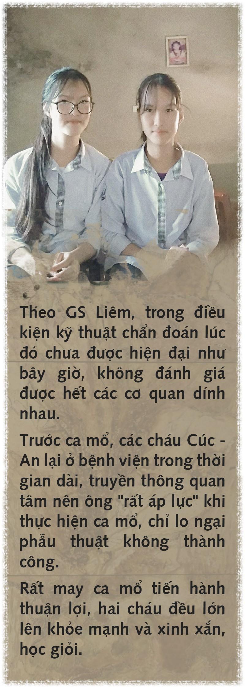 Cúc - An: Điều kỳ diệu của cặp song sinh dính liền 15 năm trước - Ảnh 6.