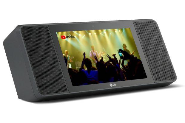 LG nhập cuộc thị trường loa thông minh với thiết kế độc đáo - Ảnh 1.