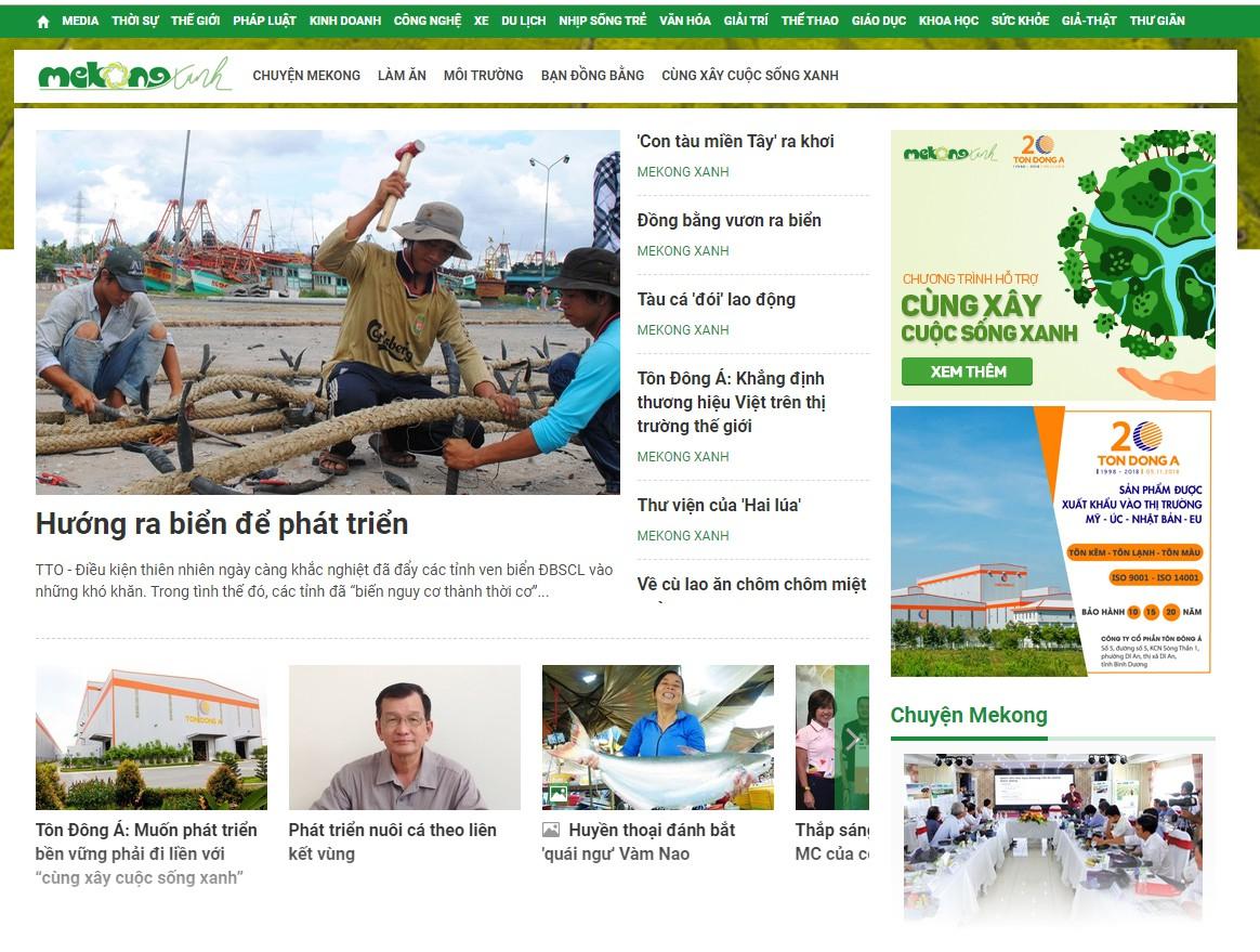 MeKong Xanh - Cùng xây cuộc sống xanh - Ảnh 4.