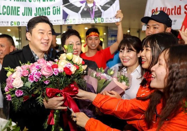 Xạ thủ Jin Jong Oh đến Việt Nam, sẽ gặp gỡ HLV Park Hang Seo - Ảnh 1.