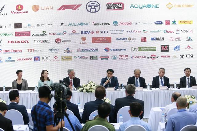 Hà Nội công bố tổ chức đua xe F1 trong 10 năm - Ảnh 1.