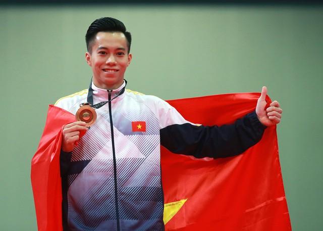 Giành huy chương vàng Olympic được thưởng 350 triệu đồng - Ảnh 1.