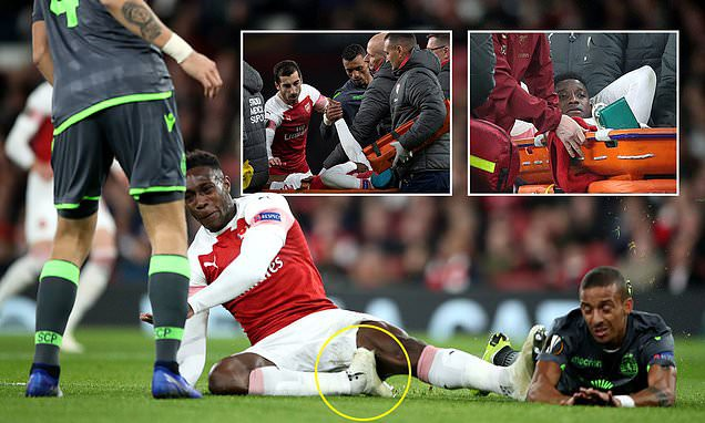 Những màn chấn thương rùng rợn của các cầu thủ Arsenal - Ảnh 1.