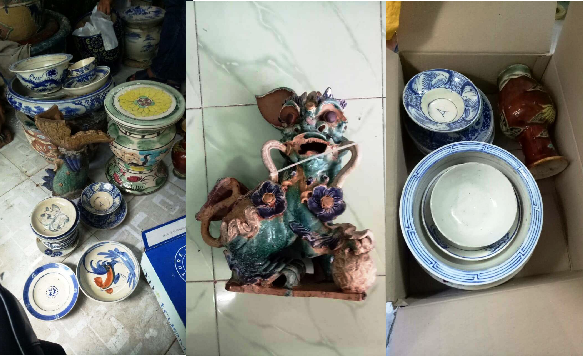 Bắt băng trộm cổ vật cấp quốc gia đem bán… 10 triệu đồng - Ảnh 1.