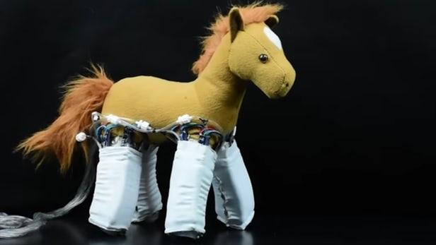 Độc đáo da robot biến mọi vật thể thành robot - Ảnh 1.