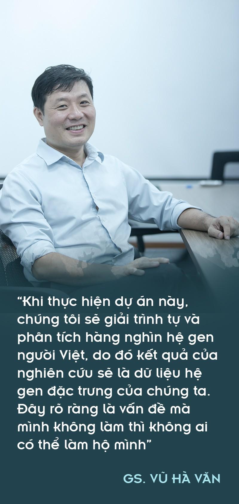 Giáo sư Vũ Hà Văn: Từ toán học đến nghiên cứu giải mã gen người Việt - Ảnh 3.