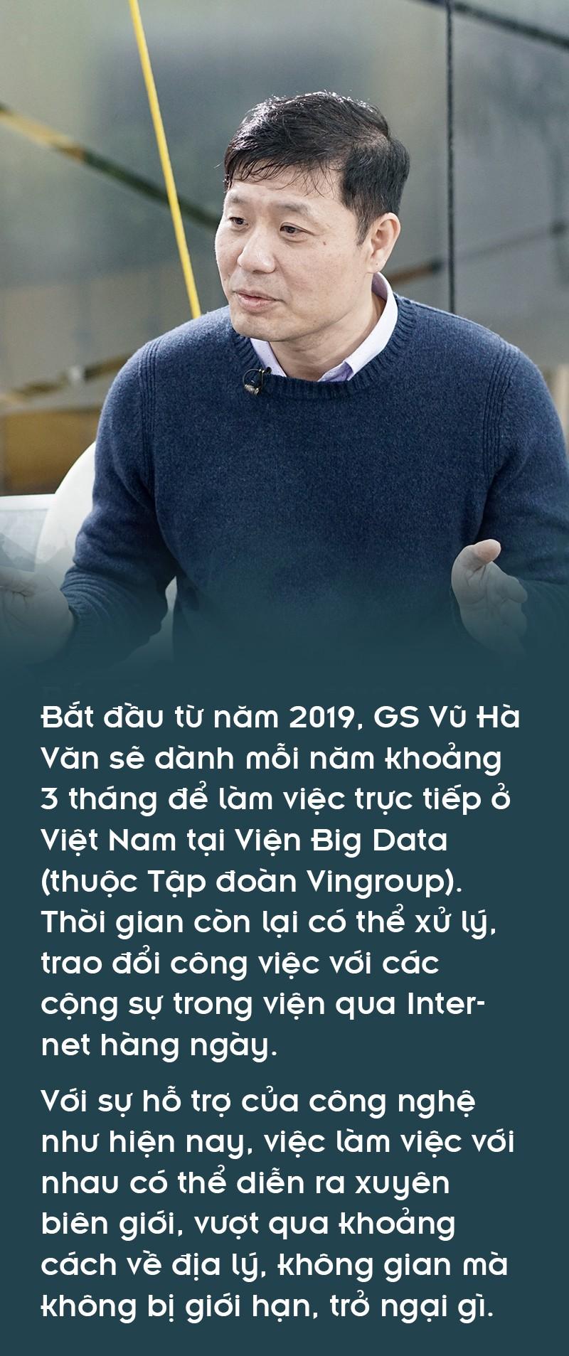 Giáo sư Vũ Hà Văn: Từ toán học đến nghiên cứu giải mã gen người Việt - Ảnh 1.