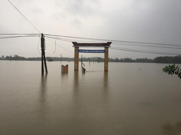 Cảnh báo lũ quét, ngập úng ở Quảng Nam - Quảng Ngãi - Ảnh 1.