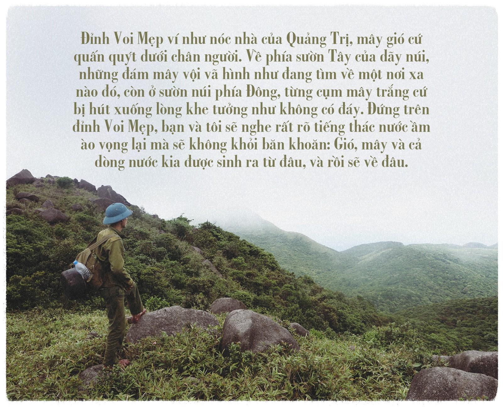 Ngược đỉnh Voi Mẹp, nóc nhà vùng đất lửa Quảng Trị - Ảnh 8.
