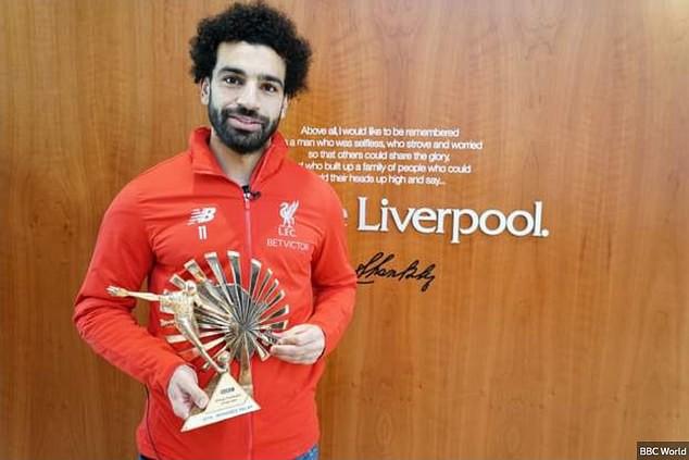Salah đoạt danh hiệu Cầu thủ châu Phi xuất sắc nhất năm 2018 - Ảnh 1.
