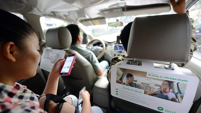 Taxi thông thường bắt tay công nghệ - Ảnh 1.
