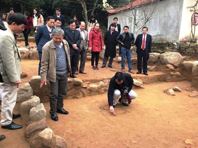 Khai quật khảo cổ học phát lộ trung tâm tôn giáo thời Trần - Ảnh 1.