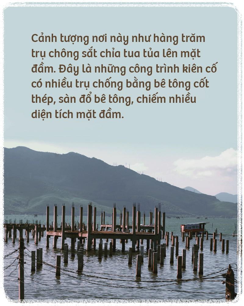 Bê tông hoá đầm Lập An - đầm nước lợ đẹp nhất miền Trung - Ảnh 3.