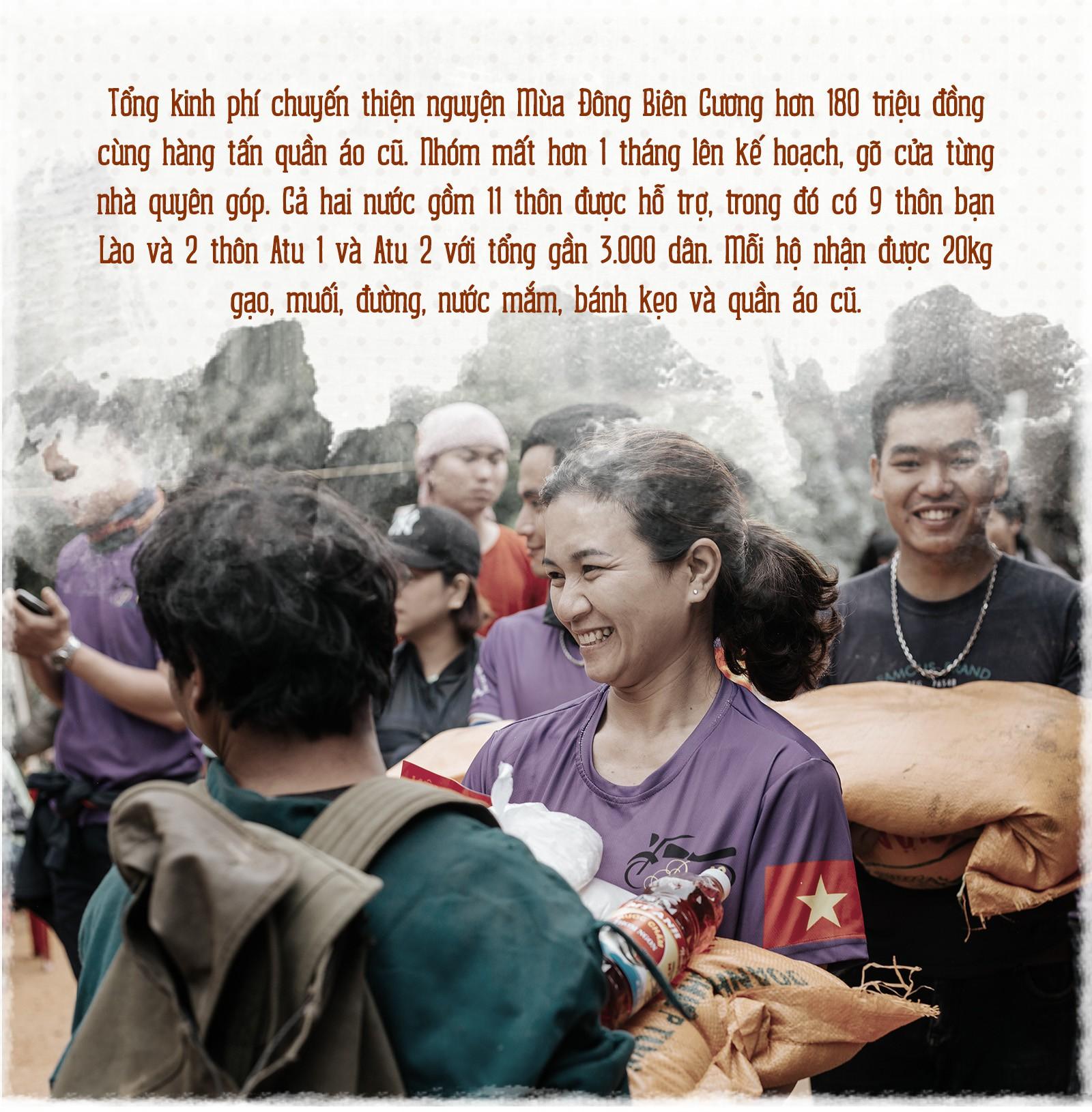 Hành trình cõng gạo cứu đói ở vùng biên của 70 người trẻ - Ảnh 12.