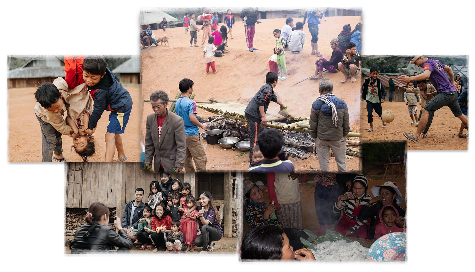 Hành trình cõng gạo cứu đói ở vùng biên của 70 người trẻ - Ảnh 7.