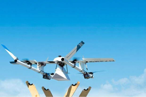 Alphabet giao hàng bằng drone ở Phần Lan - Ảnh 1.