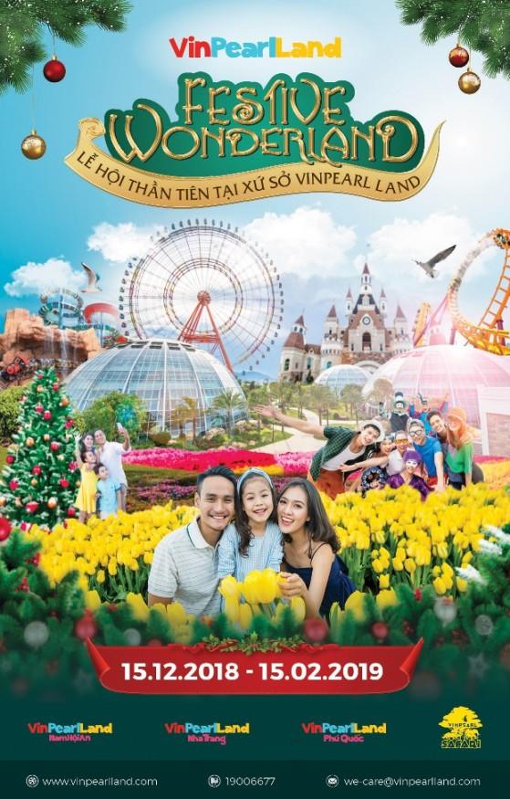 Checkin tại Festive Wonderland - Lễ hội thần tiên tại Vinpearl Land - Ảnh 1.