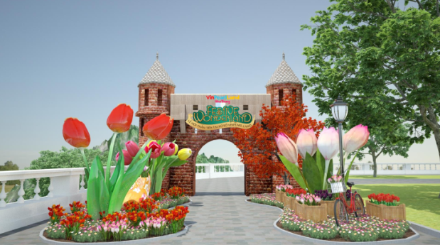 Checkin tại Festive Wonderland - Lễ hội thần tiên tại Vinpearl Land - Ảnh 5.