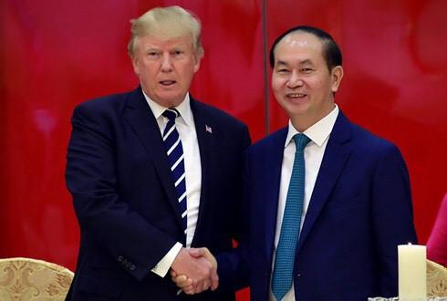 Tổng thống Mỹ Donald Trump chúc Tết người Việt Nam - Ảnh 1.
