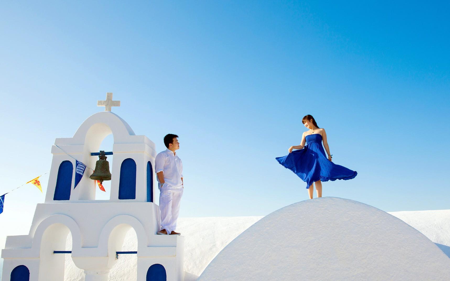 Du lịch qua những bức ảnh cưới đẹp như mơ